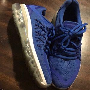 Nike airmax blue 4.5Y 6- 6.5W